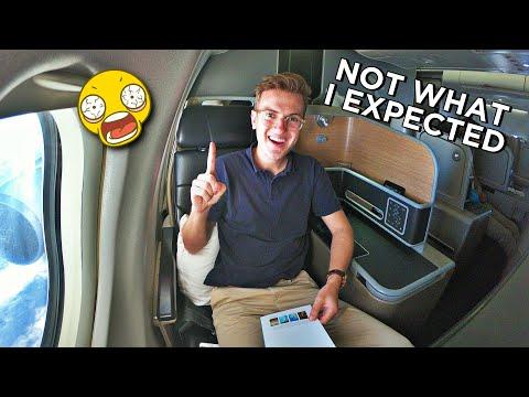 Qantas Business Class - I'M SO IMPRESSED