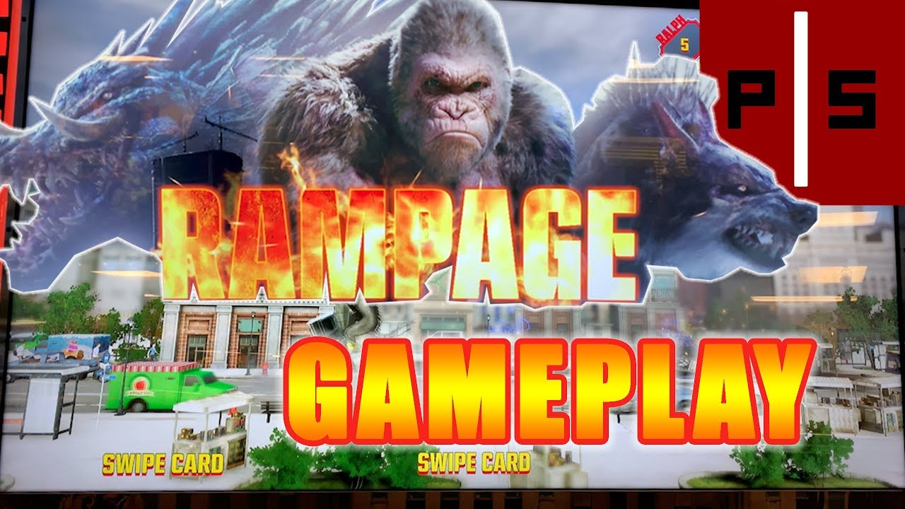 Rampage 2018 Arcade Gameplay All Characters Let S Play