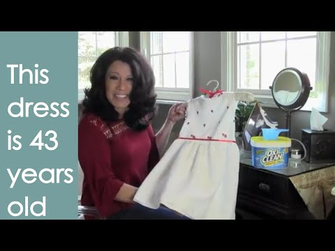 Whiten Yellowed Clothes and Linens (how to) - Renee Romeo