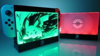 AMAZING Nintendo Switch LIGHT UP [Pokémon] DOCK Accessory