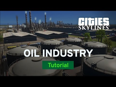Oil Industry From Start To Finish with TheTimeister | Tutorial | Cities: Skylines