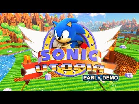 Играем в фан-игры — Sonic Utopia