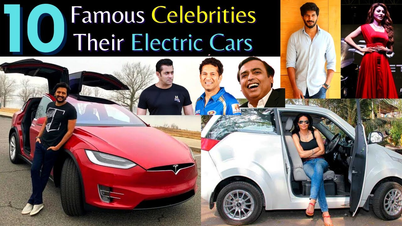 10 Famous Celebrities & Their Electric Cars In India