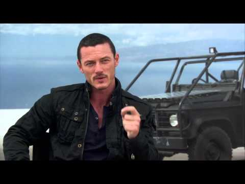Fast & Furious 6 Interview Luke Evans - YouTube