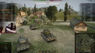 Первый стрим. Погоняем в World of tanks.