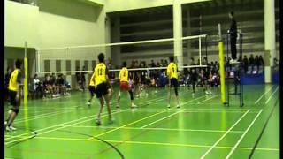 2008-09香港學界(第一組)男子排球乙組4強長天對華英