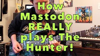 How to play The Hunter by Mastodon | Weekend Wankshop 232 with Uncle Ben