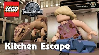 LEGO Jurassic World Kitchen Escape