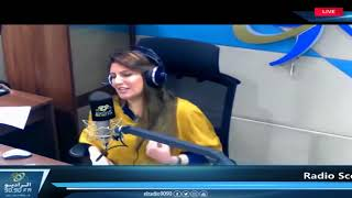 "رسالة "" انغام "" لـ ""محمد صلاح ""   راديو سكوب مع غدير حسان"