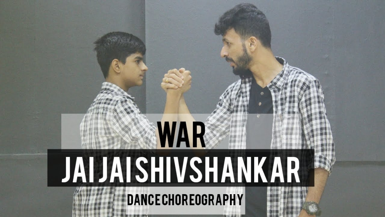 Jai Jai Shivshankar Dance Choreography  Hrithik  Tiger  War