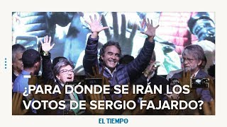 ¿Para dónde se moverán los votos de Sergio Fajardo? | EL TIEMPO