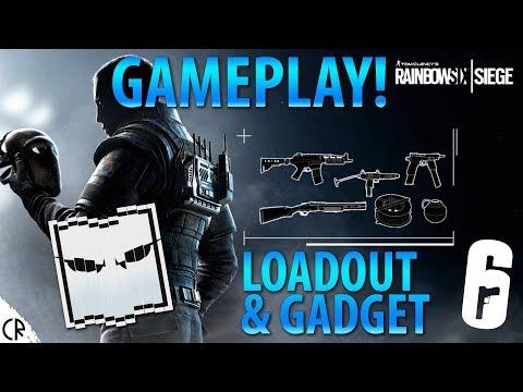 Vigil Gameplay - Loadout & Gadget - White Noise - Tom Clancy's Rainbow Six Siege - R6