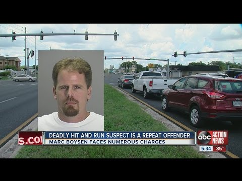 Deadly hit-and-run suspect is a repeat DUI offender