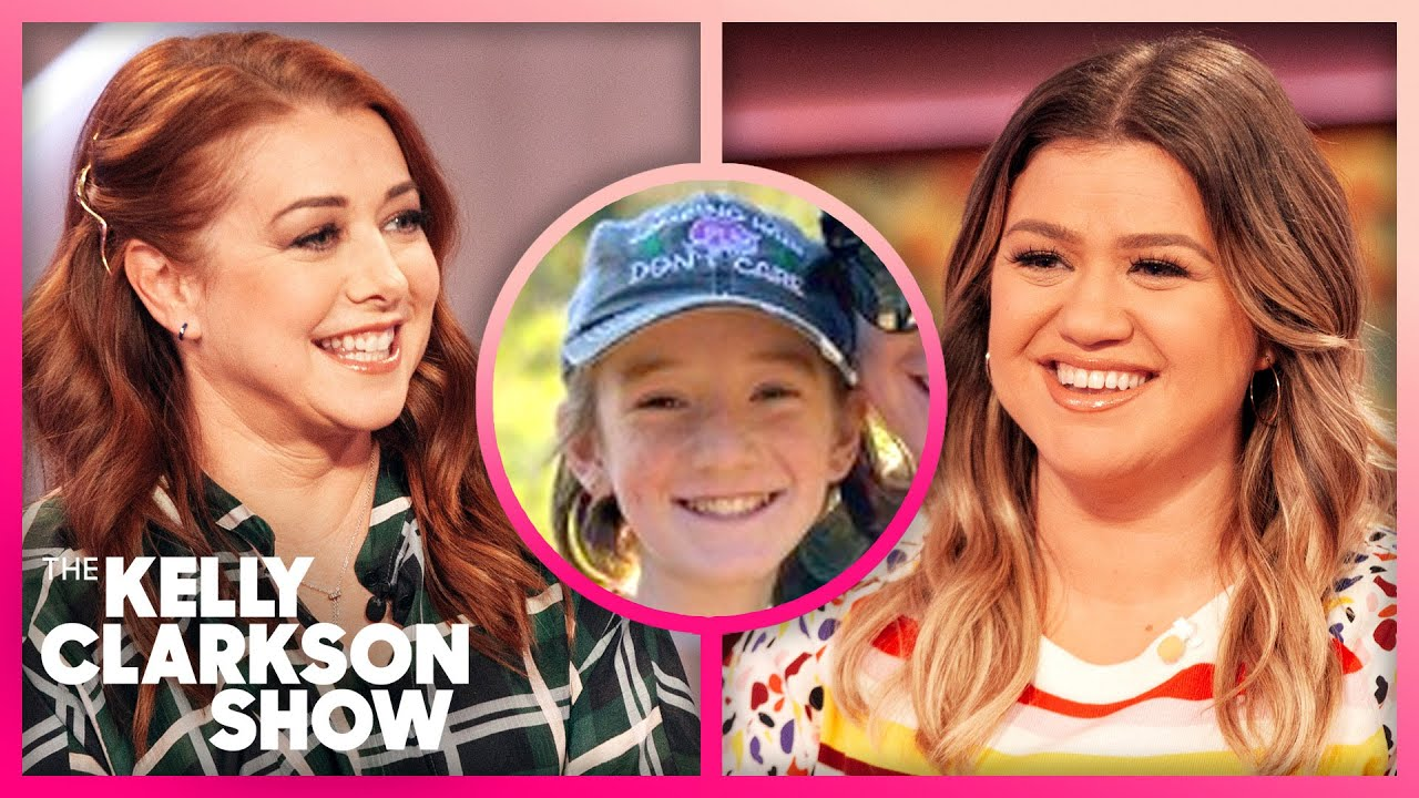 Alyson Hannigan's Daughter Freaked When Kelly Sent Her A Birthday Video
