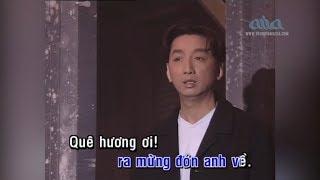 Karaoke ĐƯỜNG VỀ QUÊ HƯƠNG | Nhạc Sĩ: Lam Phương | Trường Vũ