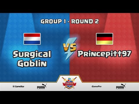 ESWC Gamescom 2017 Clash Royale - Group 1 - Round 2 - Surgical Goblin vs Princepitt97
