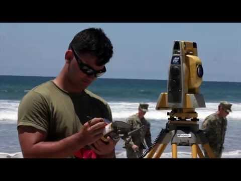 Marines Pioneer New Survey Techniques