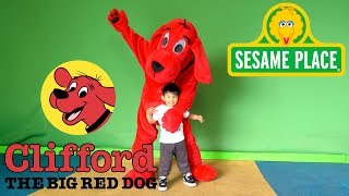 Clifford the Big Red Dog Theme Song with Meet and Greet at Sesame Place