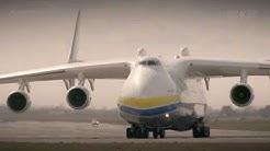 """Pierwsza wizyta An-225 Mrija na Lotnisku Chopina w Warszawie. Operacja """"Cargo dla Polski"""""""