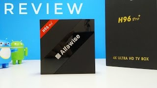 Alfawise H96 Pro + TV Box Review - S912, 3GB RAM - New King Android Boxar!