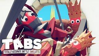 КОРОЛЕВСКИЕ ИНТРИЖКИ ► Totally Accurate Battle Simulator #19