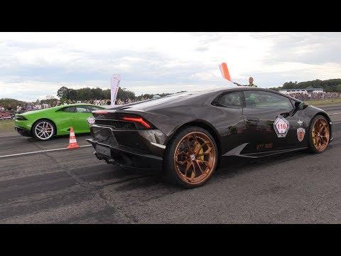 1000HP Lamborghini Huracán vs 1000HP...