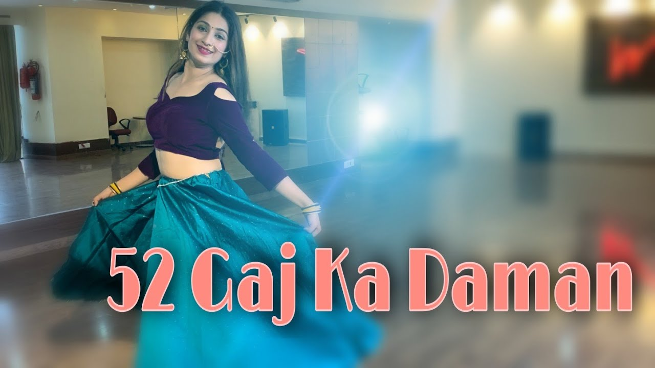 52 GAJ KA DAMAN | Dance Video | Renuka Panwar|  Latest Haryanvi Song | Divyas Choreography.