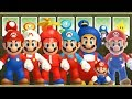 New Super Mario Bros Wii - All Giant Mar
