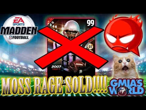 99 LTD RANDY MOSS RETURNS FROM THE DEAD | MADDEN 17 ULTIMATE TEAM
