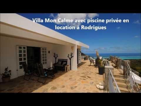 Villa Mon Calme In Rodrigues, Mauritius, With Private Pool, Available For  Rent