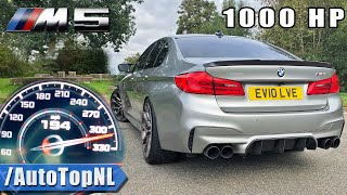 1000HP BMW M5 F90 Evolve 0-310KM/H *INSANE* Acceleration by AutoTopNL