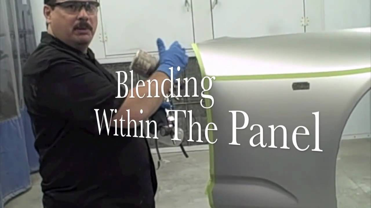 DIY - How To (Blend Car Paint) to Match Metallic or Pearl ...