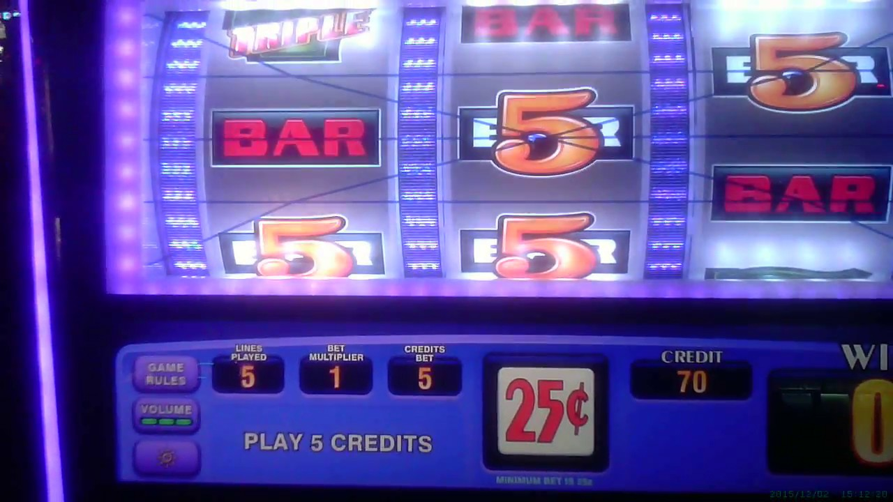 Lines On A Slot Machine