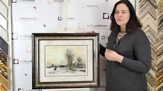 Шедевр в вышивке крестиком Авторская схема Екатерины Волковой Зимний вечер