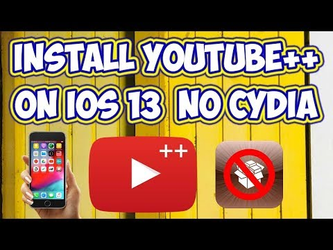 Youtube++ - How To Download Youtube ++ On iphone / iOS 13, IOS 12 Without jailbreak 2019