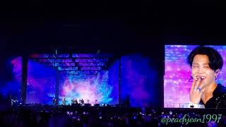 [FANCAM] 20190504 - BTS Speak Yourself Day-1 at Rosebowl - Serendipity by Jimin