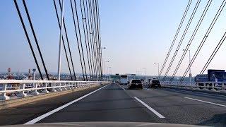 ドライブ 首都高 大黒PA - 第三京浜 京浜川崎IC [4k 車載動画 2014/04]