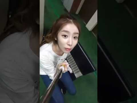 [ENG SUB] Stellar Gayoung Broadcast - Golf on a Sunday Night~ Gayoung's First Broadcast (2016.10.02)