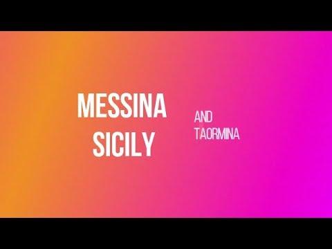 Visit the sights of Messina and Taormina