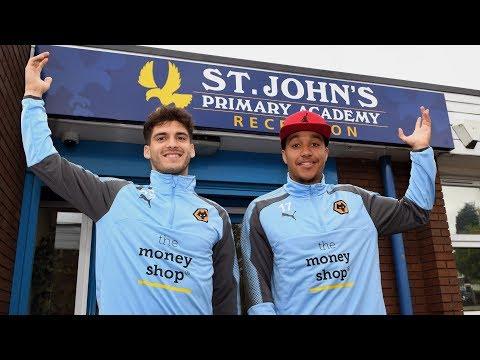 Wolves Community Trust | St John's Academy visit