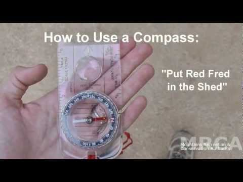 Compass 101 - How To Use A Baseplate Compass