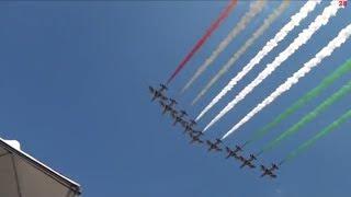 Frecce Tricolori Festa della Repubblica 2 Giugno 2014 Fori Imperiali