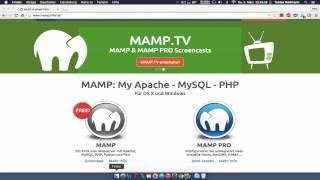 Webserver und MySQL Datenbank auf Mac OS X installieren