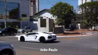 Chasing Lamborghini Aventador in Goiânia, GO - Brazil