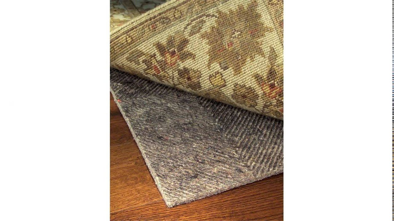 Rug Pads For Hardwood Floors   YouTube