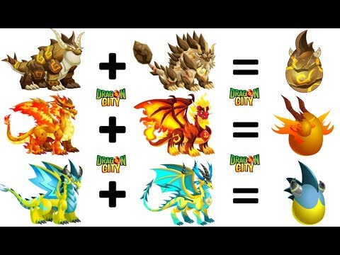 How To Breed All DOUBLE ELEMENT Dragons In Dragon City 2018 2