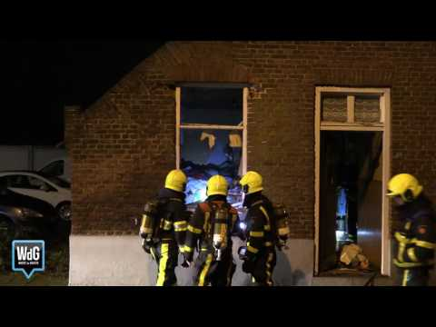 Explosie beschadigd woning in Nederweert