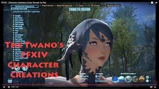 1 (Sevimli Kadın Au Ra), Final Fantasy Karakter Kreasyonlar#