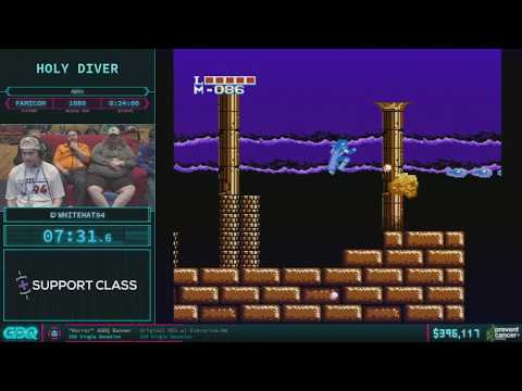 Holy Diver by WhiteHat94 in 21:06 - AGDQ 2018 - Part 62