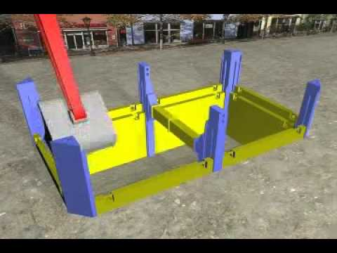 Trench Shoring Company SBH Slide Rail - Trench Creation